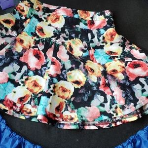 Lush Corful Circle mini skirt
